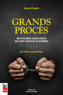 Book cover: Grands procès - PROULX DANIEL - 9782897057664