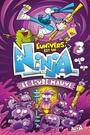 Book cover: L'Univers est un Ninja 3 - A. Alex - 9782897516864