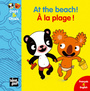 Couverture du livre A la plage ! At the Beach ! - Mellow - 9782916238524