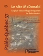 Book cover: Site McDonald (Le) - Chapdelaine Claude - 9782920366480