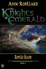 Couverture du livre The Knights of Emerald 05 : Reptile Island - Anne Robillard - 9782924442531