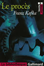 Book cover: Le proces - KAFKA FRANZ - 9782070317219