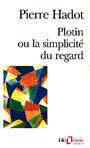 Book cover: Plotin ou la simplicite du regard - HADOT PIERRE - 9782070329656