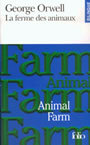 Book cover: La ferme des animaux / animal farm - ORWELL GEORGE - 9782070387809