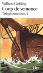 Couverture du livre Coup de semonce ( trilogie maritime 2 ) - GOLDING WILLIAM - 9782070421442