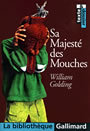 Couverture du livre Sa majeste des mouches - GOLDING WILLIAM - 9782070421787