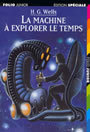 Couverture du livre La machine a explorer le temps - WELLS HERBERT GEORGE - 9782070514397