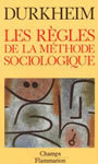 Book cover: Les regles de la methode sociologique - DURKHEIM EMILE - 9782080811981