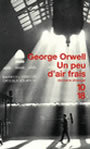 Book cover: Un peu d'air frais - ORWELL GEORGE - 9782264030375