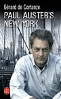 Couverture du livre Paul auster's new york - CORTANZE GERARD DE - 9782702488744