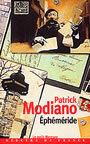 Book cover: Ephemeride - MODIANO PATRICK - 9782715223226
