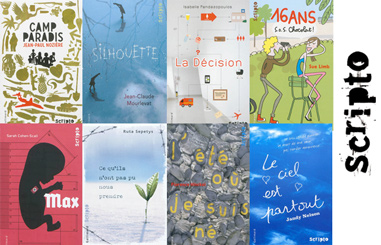 10 ans de la collection Scripto des éditions Gallimard